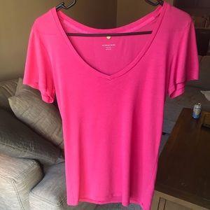 Victoria's Secret Pink V neck Tee